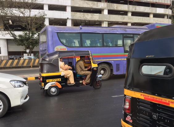 Tuck Tuck in Mumbai