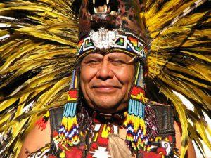 Glücklicher Indianer
