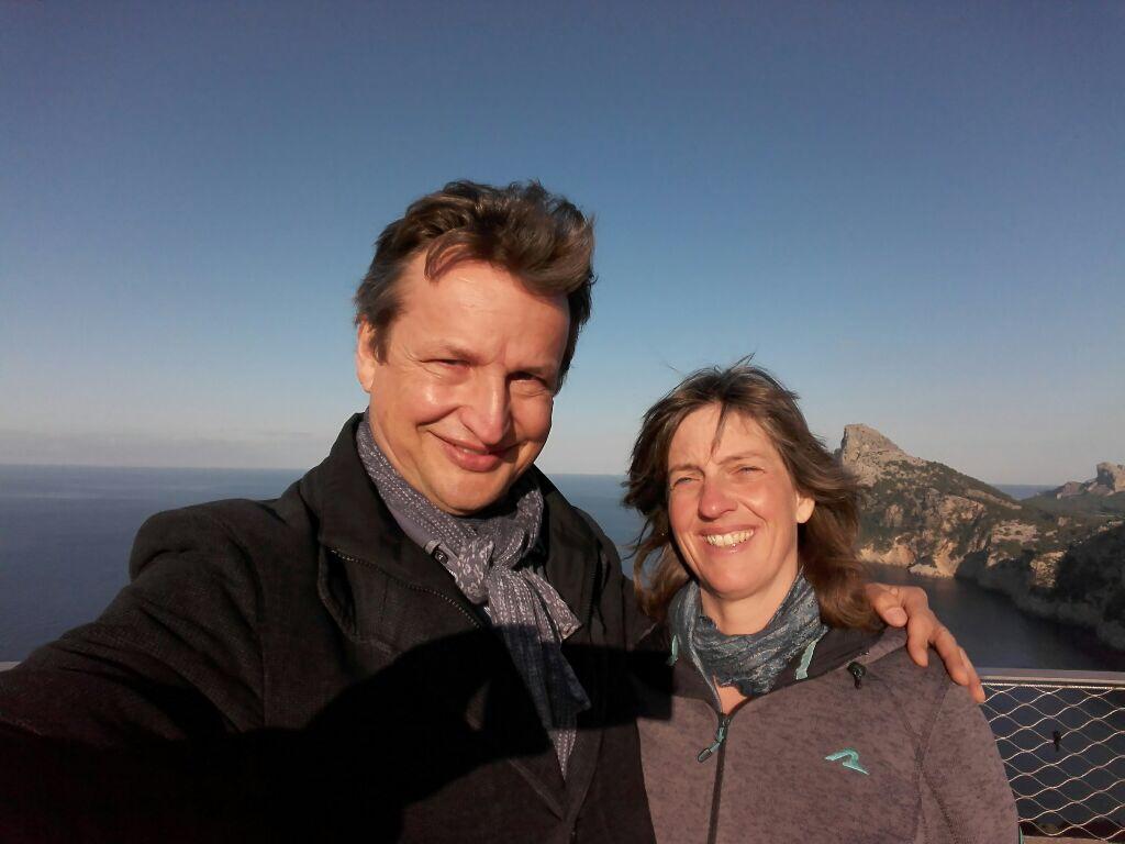 Andreas & Sandra glücklich