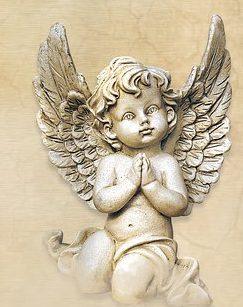 Betender kleiner Engel