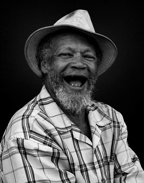 Lachener schwarzer Mann