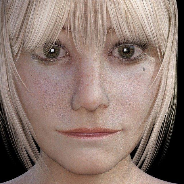 traurig schauendes Mädchen